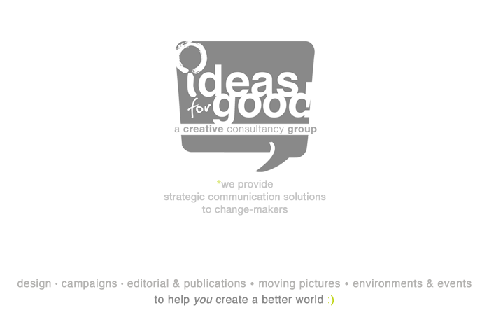 Welcome to Ideas for Good (Philippines)